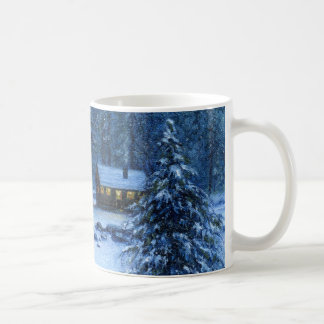 """Cozy Cabin In the Snow"" Mug"
