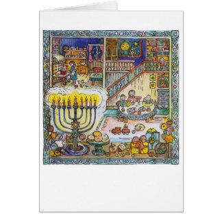 Cozy Chanukah - Greeting Card