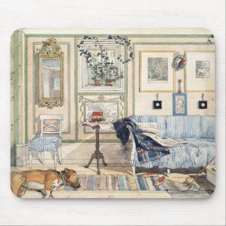 Cozy Corner by Carl Larsson Mouse Pad