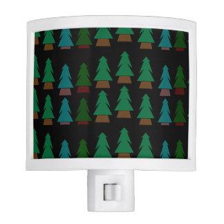 Cozy Customizable Pine Tree Pattern Nightlight Night Lite