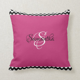 Cozy & Customized Magenta Color - Throw Pillow