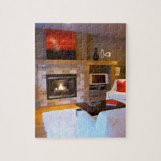 Cozy Modern Home Jigsaw Puzzle