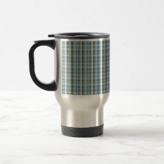 Cozy Pajama Plaid Travel Mug