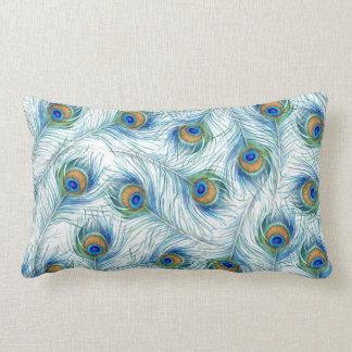 Cozy Peacock Pillow