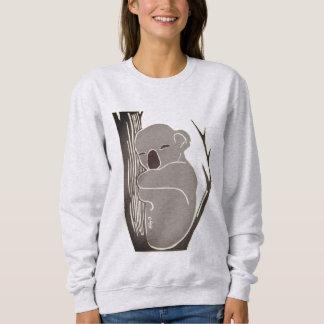 Cozy Sleepy Koala Women's Sweatshirt