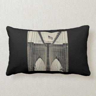 Cozy up with Brooklyn NY Edition 2 Lumbar Pillow