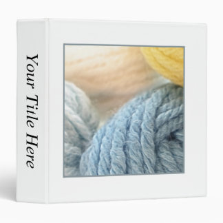 Cozy Yarn 3 Ring Binder