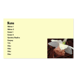 CP- Daffodil and Cheery Blossom Business Cards