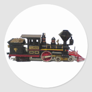 CP Huntington engine SP-1 Classic Round Sticker