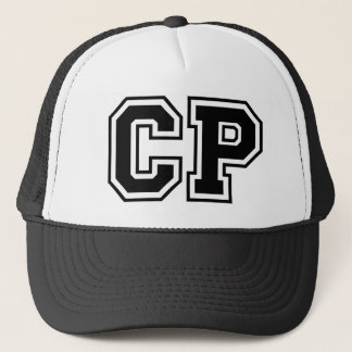 'CP' Monogram Trucker Hat