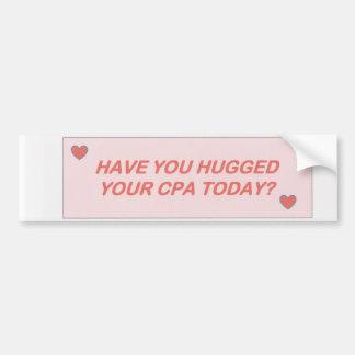 CPA - Hugs Bumper Sticker