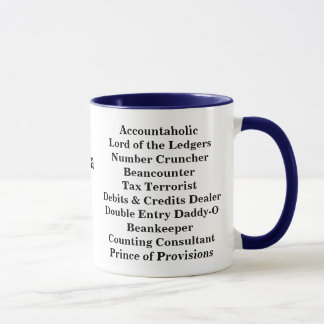 CPA Male aka Funny Names and Cruel Pseudonyms! Mug