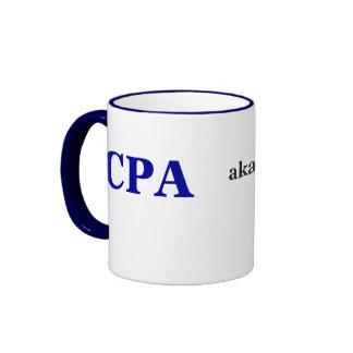 CPA Male aka Funny Names and Cruel Pseudonyms! Ringer Coffee Mug