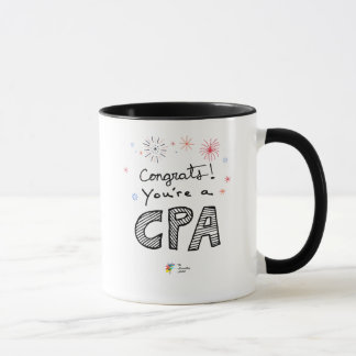 CPA Mug - Congrats! You're a CPA