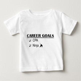 CPA Ninja Career Goals Baby T-Shirt