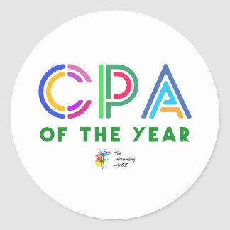 CPA Sticker - CPA of the Year
