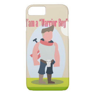 Cpacell-WarriorBoyModel2 iPhone 7 Case