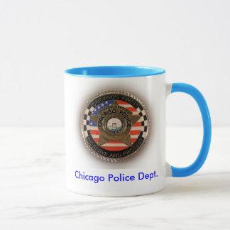 CPD Challenge Coin Mug