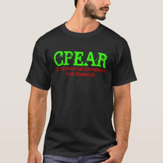 CPEAR, Ct Paranormal Encounters And Research T-Shirt