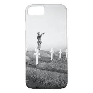 Cpl. Charles Price sounds _War Image iPhone 7 Case