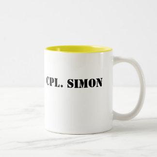 Cpl. Simon mug