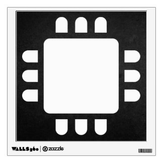 Cpu Designs Minimal Wall Decal