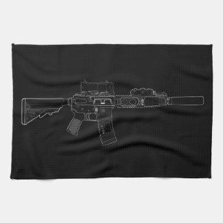 CQBR MK18 Mod 0 Black Kitchen Towel