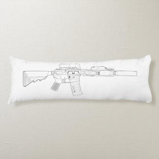 CQBR MK18 Mod 0 Body Pillow