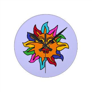 CR- Aztec Sun Wall Clock