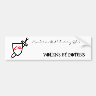 CR Bumper Sticker