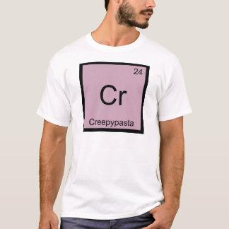 Cr - Creepypasta Chemistry Element Symbol Meme Tee