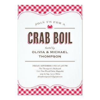 Crab Boil Invitations