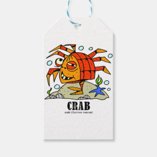 Crab by Lorenzo © 2018 Lorenzo Traverso Gift Tags