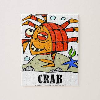 Crab by Lorenzo © 2018 Lorenzo Traverso Jigsaw Puzzle