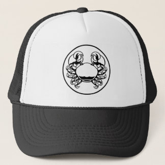 Crab Cancer Zodiac Horoscope Sign Trucker Hat