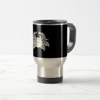 Crab chrysanthemum travel mug