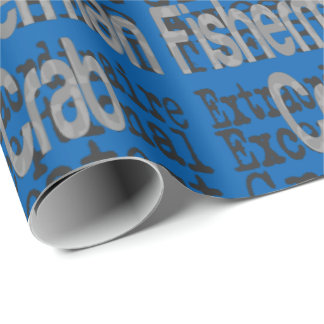 Crab Fisherman Extraordinaire Wrapping Paper