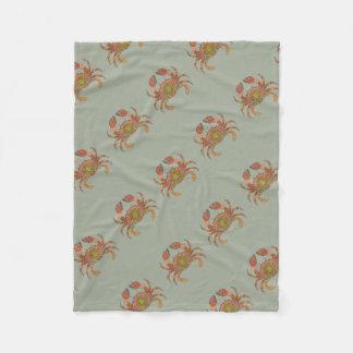 Crab Fleece Blanket