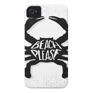 Crab iPhone 4 Cover