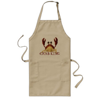 Crab King Ole' Long Apron