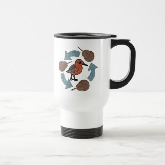 Crab-Knot Cycle Travel Mug