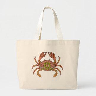 Crab Large Tote Bag