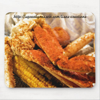 Crab legs mouse pad