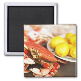 Crab & Lemons Kitchen Magnet