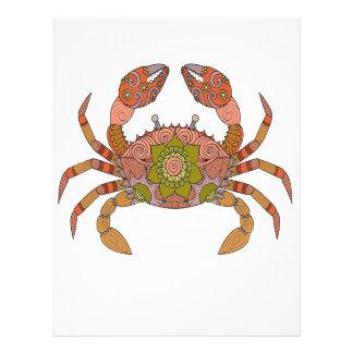 Crab Letterhead