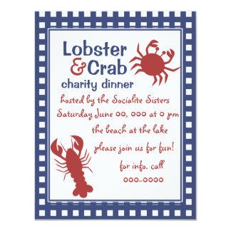 Crab & Lobster! Card