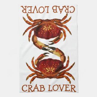 Crab Lover Kitchen Towel