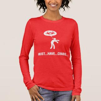 Crab Lover Long Sleeve T-Shirt