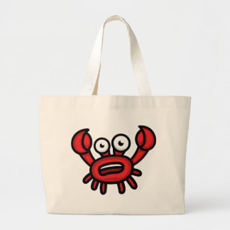 Crab Luigi Large Tote Bag