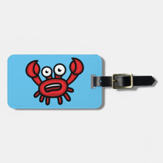 Crab Luigi Luggage Tag